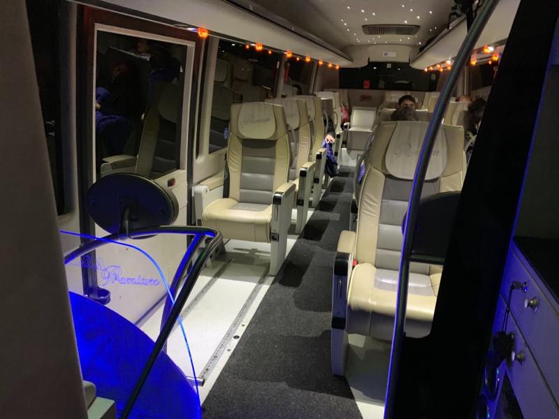Alsa bus, Madrid