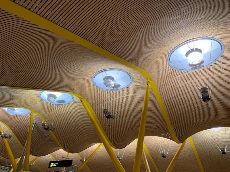 Barajas airport, Madrid