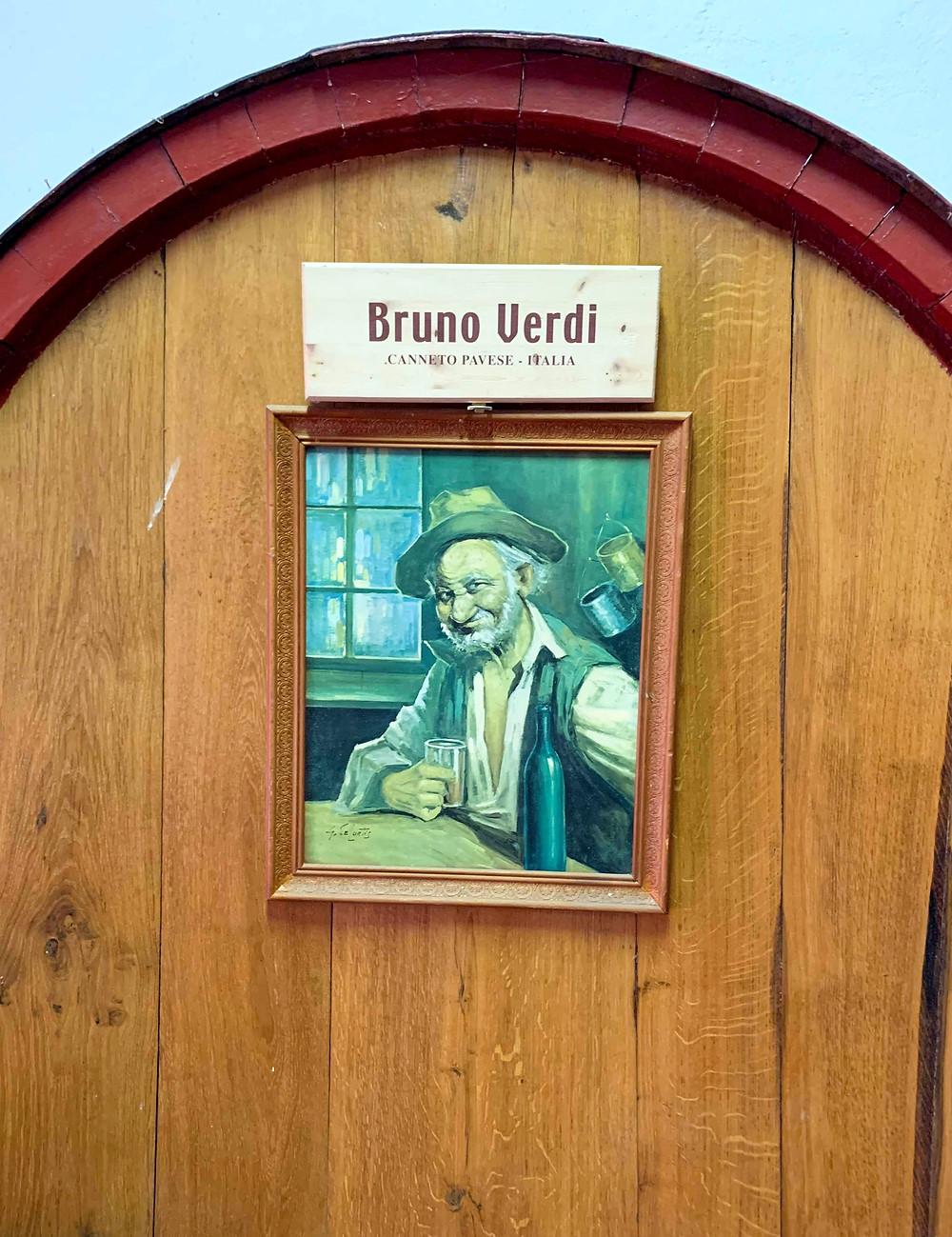 Bruno Verdi, Oltrepo Pavese, Lombardia