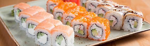 Роллы, суши
