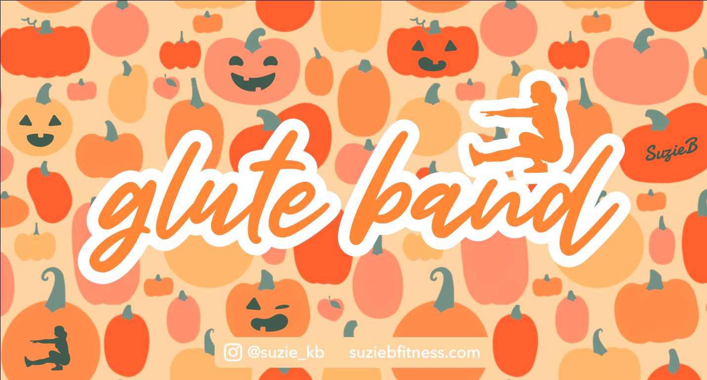 Pumpkin Spice Glute Band Packaging - Front