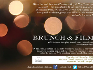 Christmas Brunch and children's film