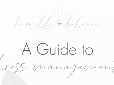 [Infographic] A Step-by-Step Guide to Stress Management