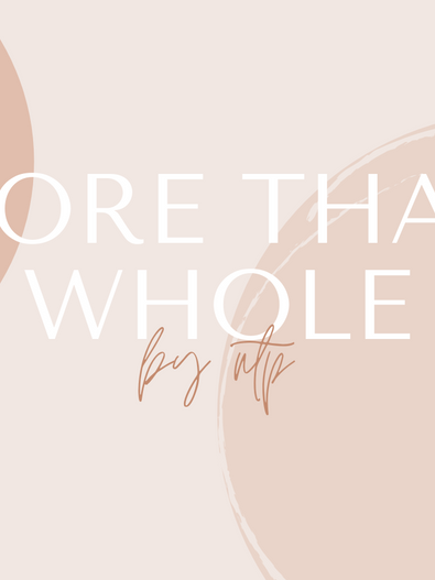 More Than Whole: Thoughts on Being Biracial