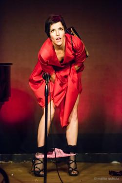 Amy G Kazoochee Red Dress