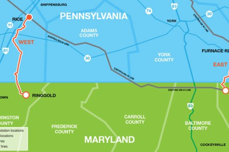 New Year's Gift to PA/MD Utility Activist Group
