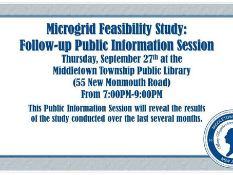 MIDDLETOWN MICROGRID PUBLIC MEETING