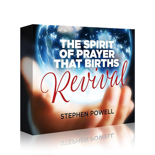 The Spirit Of Prayer That Births Revival (Downloadable)