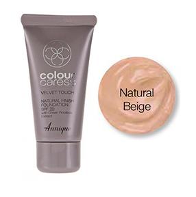 Velvet Touch Natural Finish Foundation (Natural Beige) SPF 20 30ml