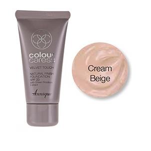 Velvet Touch Natural Finish Foundation (Cream Beige) SPF 20 30ml