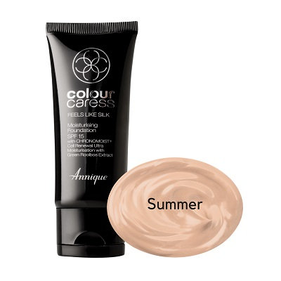 Feels Like Silk Moisturising Foundation (Summer) Spf 15 30ml