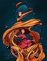 Sprited Away-illustration