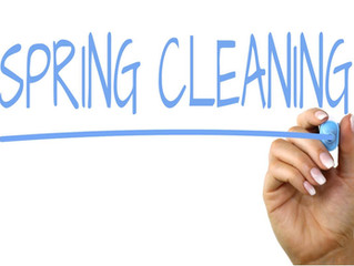 Spring and clean!