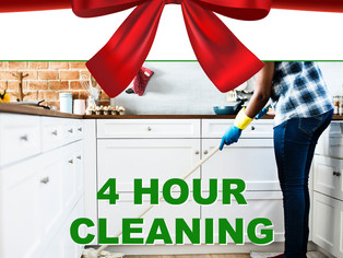 A clean home for the Holidays!