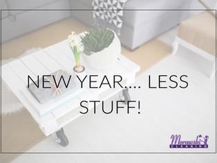 New Year… Less STUFF!