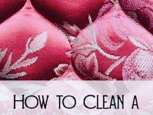Best way to clean your mattress