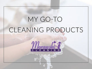 My go-to cleaning products!