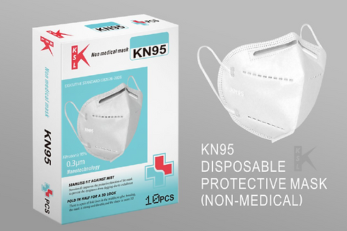 KN95 Particlulate Mask (10)