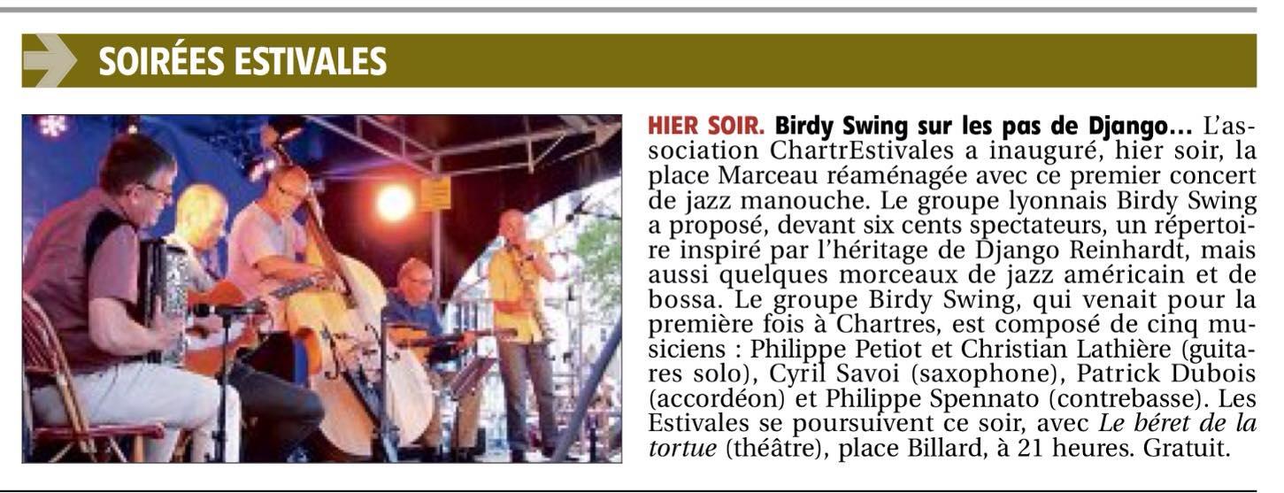 birdy swing CE 2016