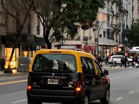 Como foi andar de Uber em Buenos Aires?