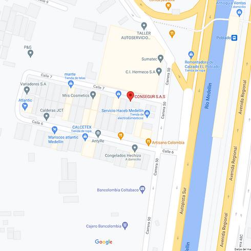 Mapa Consegur