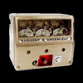 Reloj triple – cronométrico Sargent & Greenleaf.