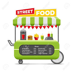 86912196-fast-street-food-cart-colorful-