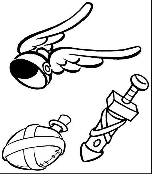 les 12 travaux d'Asterix