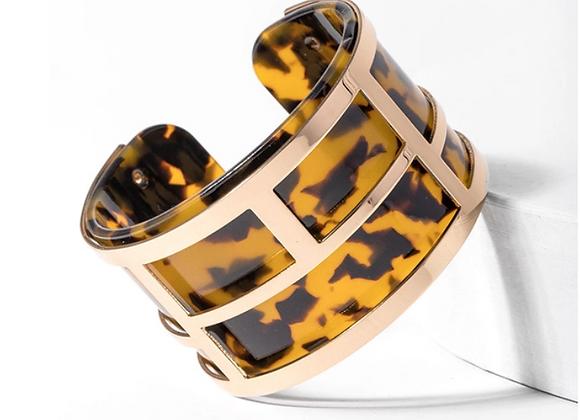Lola Tortoise Cuff Bracelet