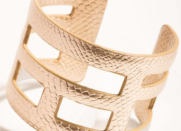 Colleen Leather Cuff Bracelet