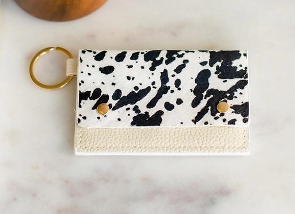 Leather Card Holder/Keyring