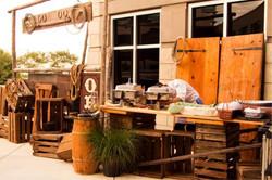 western buffet food station