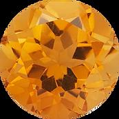 orange citrine gemstone