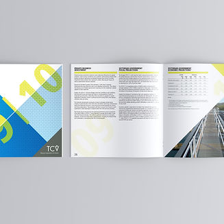 TCV Concise Annual Report Design