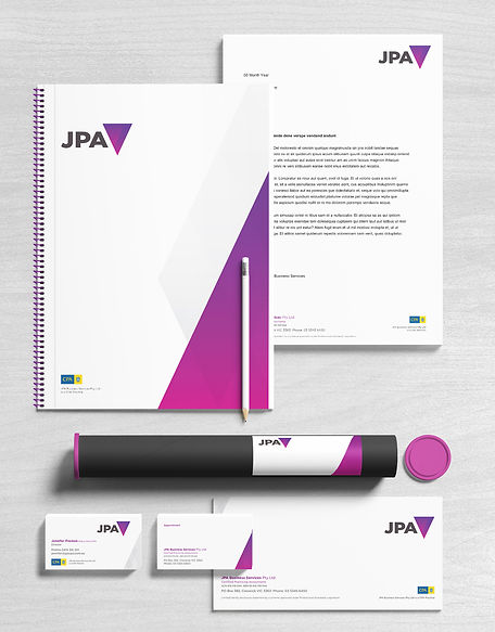 JPA Business Servies Logo Design