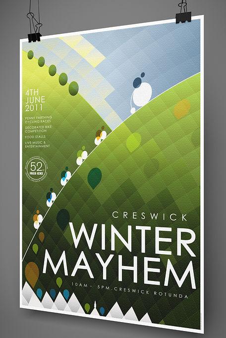 Creswick Theatre Company Poster Design Beckett