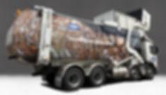 Visy Recycling Truck Design