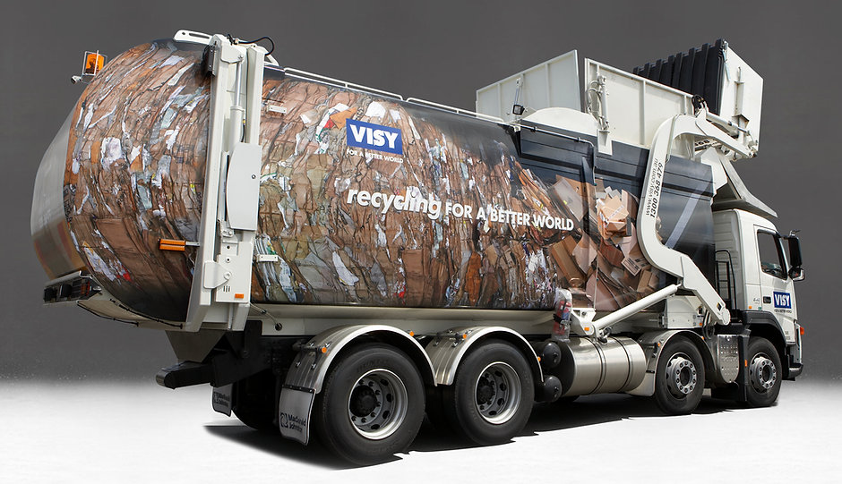 Visy Recycling Truck Design