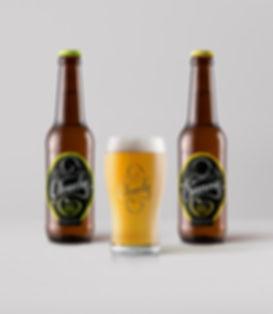 Captains Creek Cider Label Design
