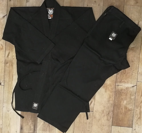 Elite Black Karate Gi 14oz Shop Second