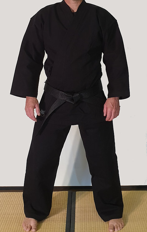 Elite Black Karate Gi 14oz