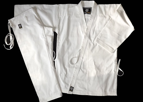 Elite Cotton White Karate Gi 14oz
