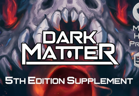 Prepare for Warp with the Sun Runners and Dark Matter for D&D 5e
