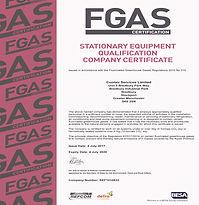 CERT05 FGAS COMPANY ACCREDITATION CERT 2