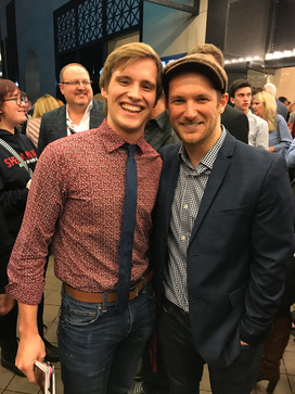 Danny had the opportunity to meet one of his favorite composers, Drew Gasparini, after seeing opening night of BEETLEJUICE in D.C.
