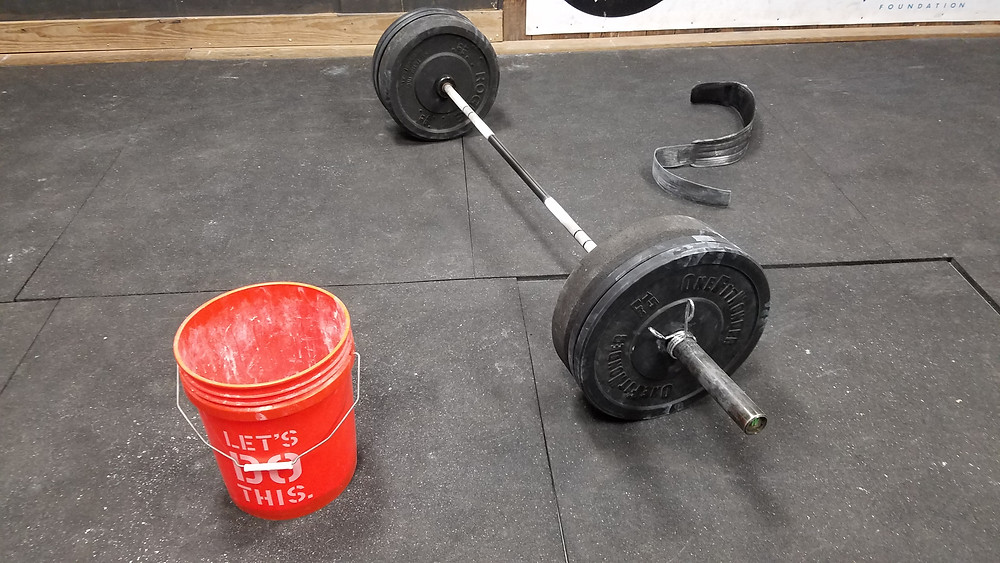 The barbells await you!!!