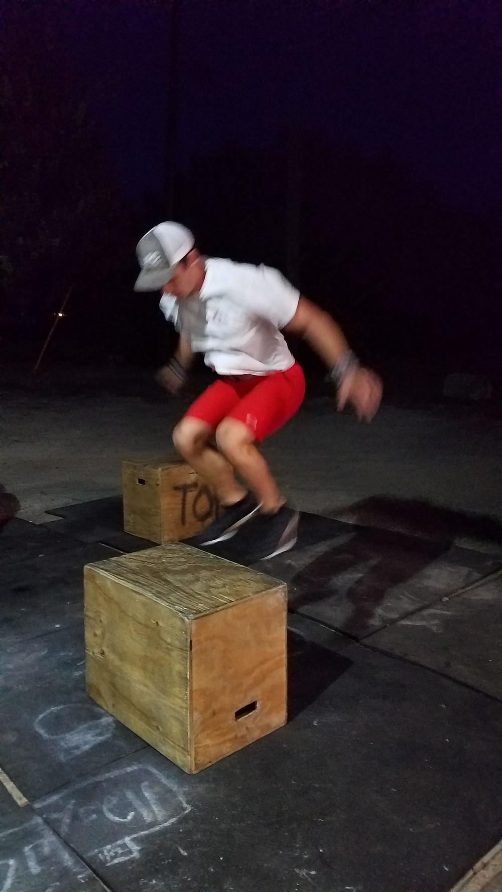 Dayton: so fast he's a blur!!