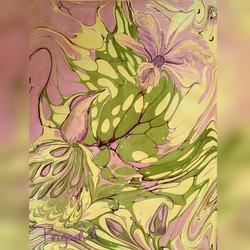 Орхидея каттлея с птицей