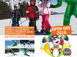 OPEN DAY 2016 - 18.12.2016
