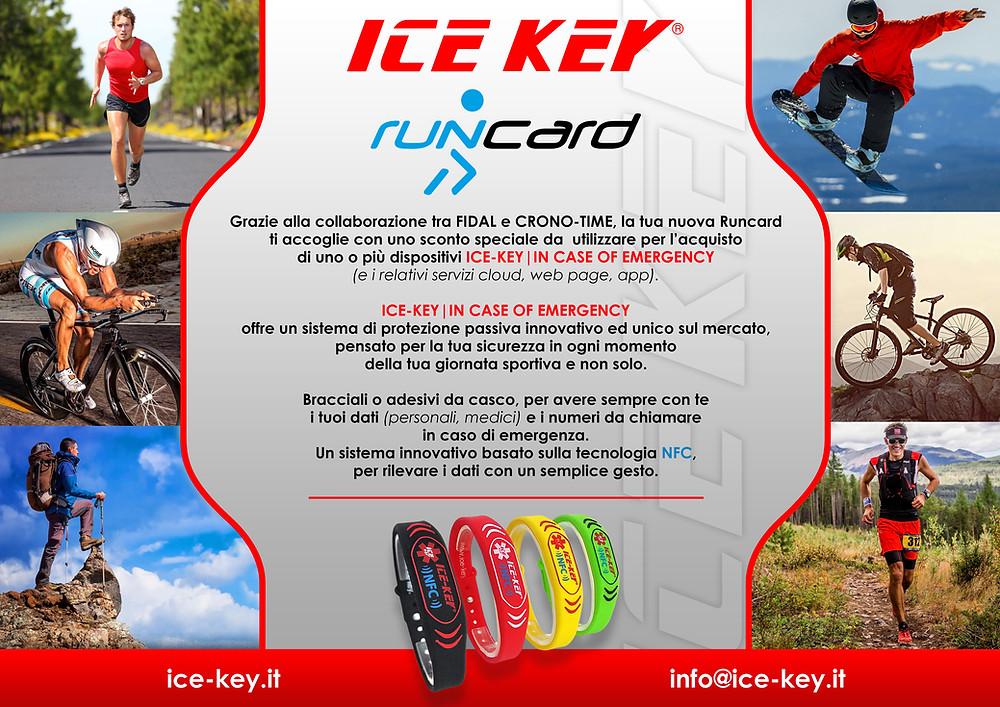 Fidal e ICE-KEY corrono insieme